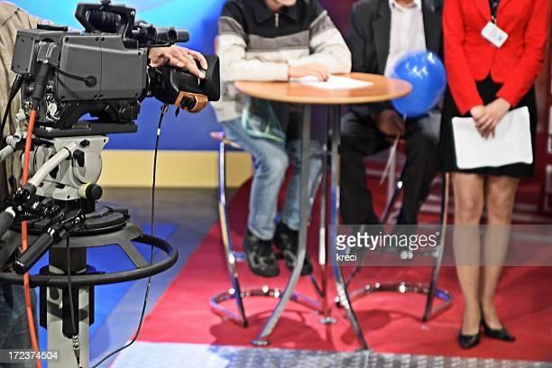 Estúdio de Televisão.