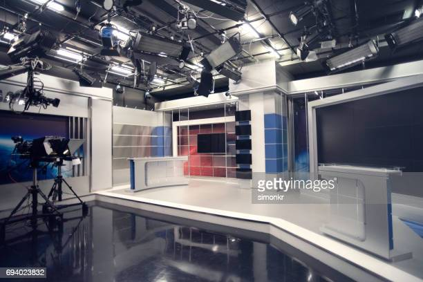 television studio - broadcasting stock pictures, royalty-free photos & images