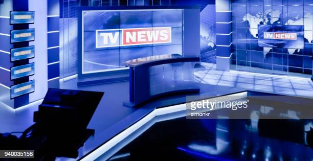 television studio - press conference stock pictures, royalty-free photos & images