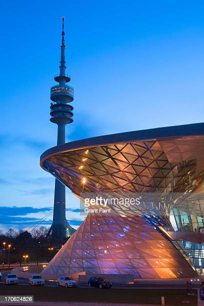 Television tower and BMW museum