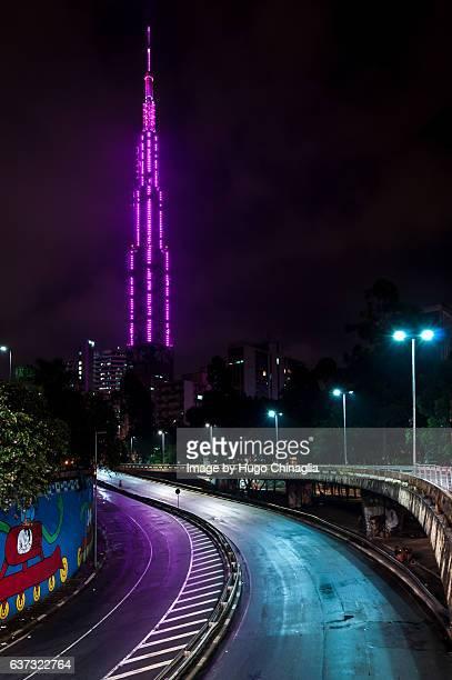 Television tower, São Paulo landmark