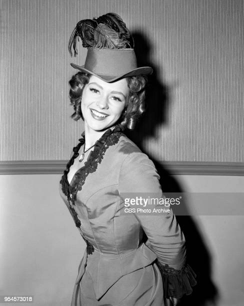 CBS television western series Hotel de Paree Episode Sundance and the Boat Soldier Pictured is Judi Meredith Originally broadcast February 5 1960 Los...