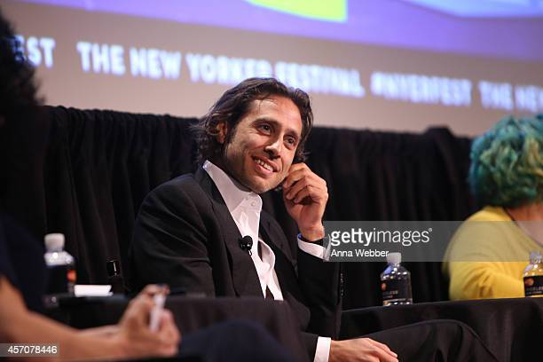 Television Writer Director and Producer Brad Falchuk attends The New Yorker Festival 2014 LGBTQ TV Brad Falchuk Jenji Kohan Michael Lannan Peter...