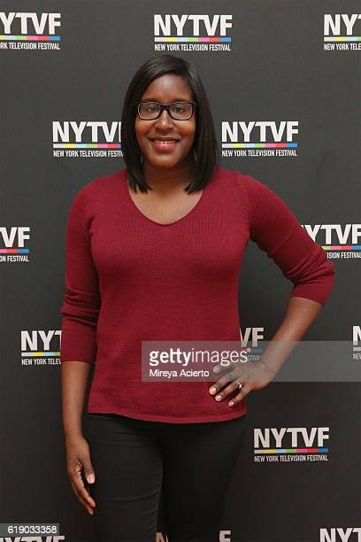 Television writer Naomi Ekperigin attends the 12th Annual New York Television Festival at Helen Mills Theater on October 29 2016 in New York City