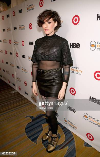 Television writer Our Lady J attends the Family Equality Council's Impact Awards at the Beverly Wilshire Hotel on March 11 2017 in Beverly Hills...