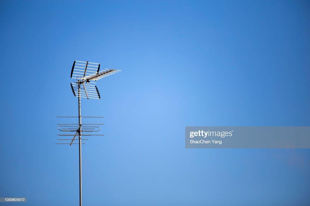 Televison antenna cable : Stock Photo