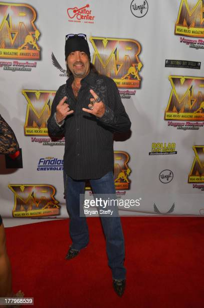 Televsion personality Danny 'The Count' Koker arrives at the Vegas Rocks Magazine Music Awards 2013 at the Joint inside the Hard Rock Hotel Casino on...