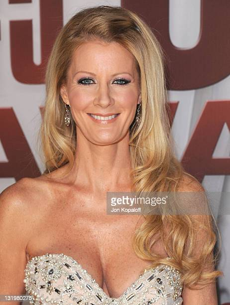 Telivision personality Sandra Lee arrives at the 45th annual CMA Awards at the Bridgestone Arena on November 9 2011 in Nashville Tennessee