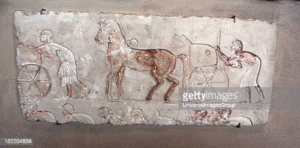 Tell elAmarna ancient Egyptian city built by 'heretic' pharaoh Akhenaten