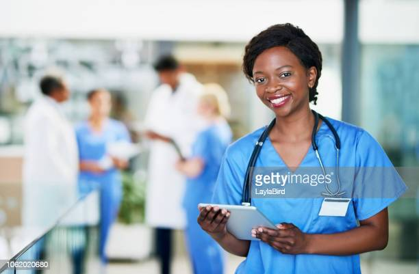 tell me your symptoms and i'll treat them - female nurse stock pictures, royalty-free photos & images