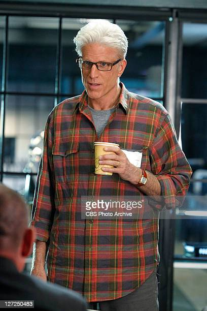 """Tell-Tale Hearts"""" -- D.B. Russell takes it all in as Captain Jim Brass speaks, on CSI: CRIME SCENE INVESTIGATION, Wednesday, Sept. 28 on the CBS..."""