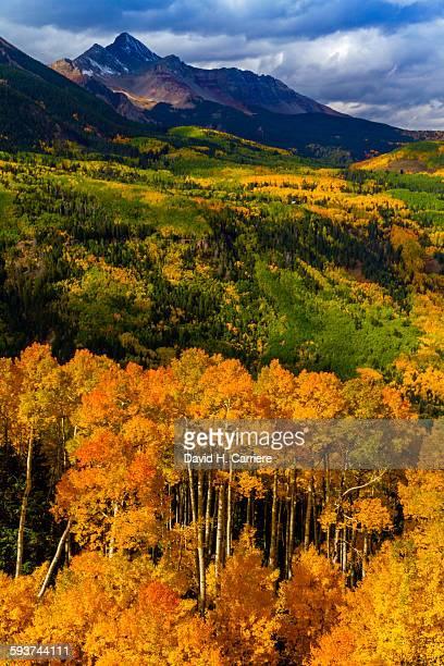telluride, colorado - mt wilson colorado stock photos and pictures