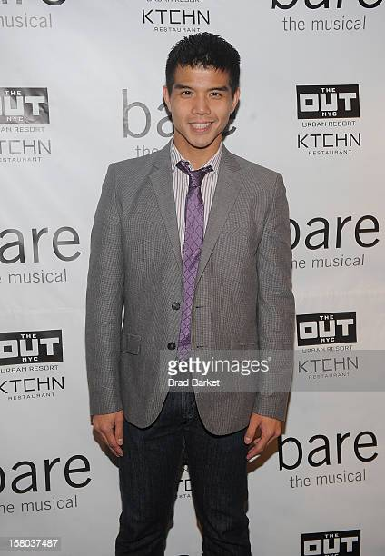 Telly Leung attends BARE The Musical Opening Night at New World Stages on December 9 2012 in New York City