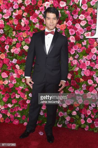 Telly Leung attends the 72nd Annual Tony Awards at Radio City Music Hall on June 10 2018 in New York City