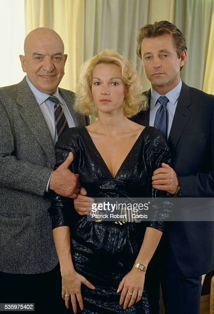 Telly Savalas Brigitte Lahaie and Christopher Mitchum star in the 1988 French horror film 'Faceless' The movie was directed by Jesus Franco