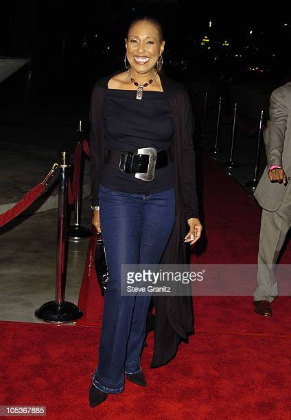 A Night For Ray Charles Arrivals at Staples Center in Los Angeles California United States