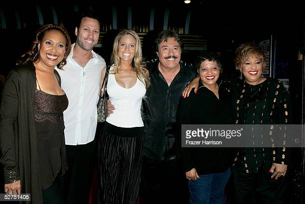 Telma Hopkins John Orland Farrah Smith Tony Orlando Pam Vincent and Joyce Vincent arrive at the WeSPARKLE Variety Hour to benefit weSPARK Cancer...