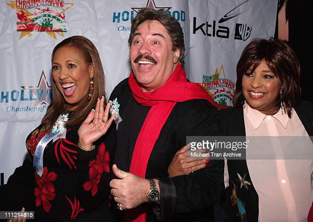 Telma Hopkins Tony Orlando and Joyce Vincent during The 74th Annual Hollywood Christmas Parade Arrivals at Hollywood Roosevelt Hotel in Hollywood...