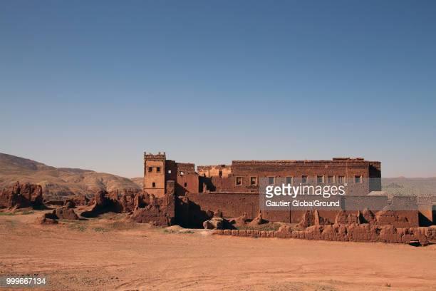 telouet kasbah, morocco - telouet kasbah photos et images de collection