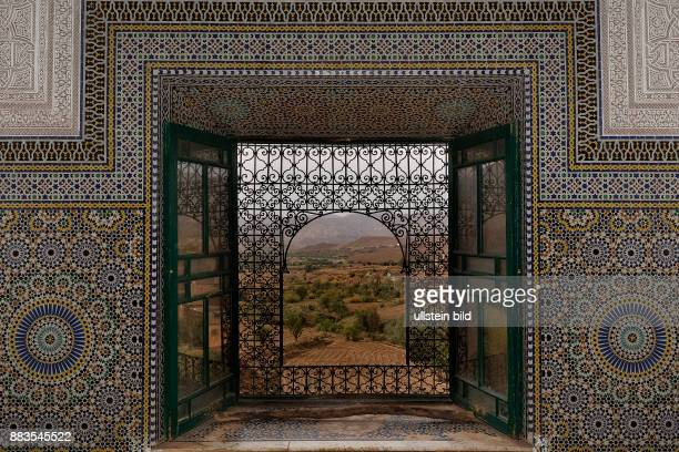 Telouet, Marokko, Kasbah, Fenster < englisch> Telouet, Morocco, Kasbah, window