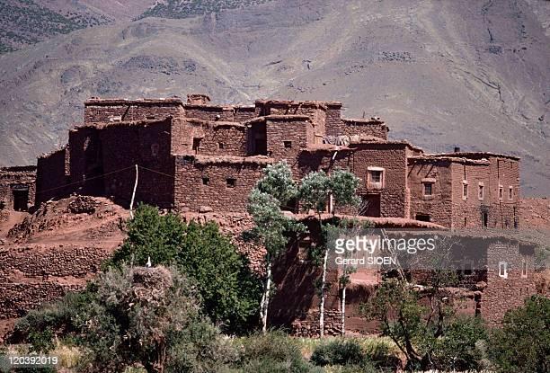 Telouet, Morocco - A house near Telouet.
