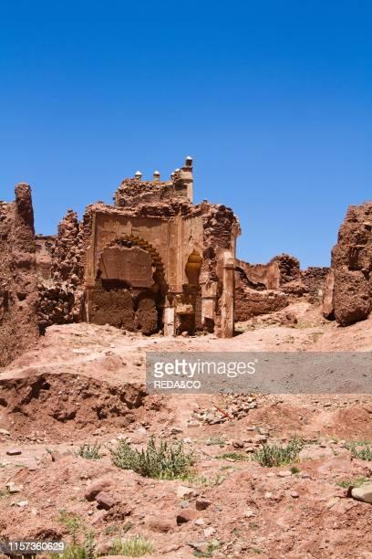 Telouet. Old Kasbah. Atlas Mountains. Morocco. North Africa.