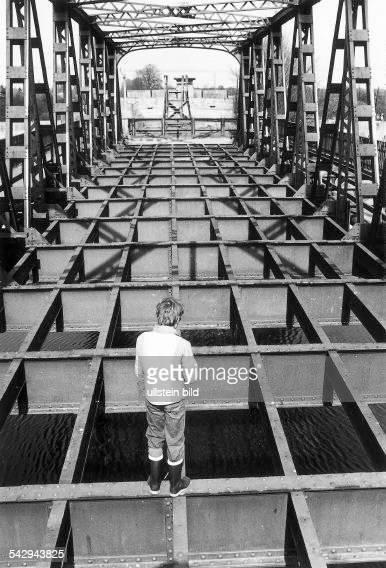 Teltowkanalbrücke an der JohannisthalerChaussee in Britz- 1978