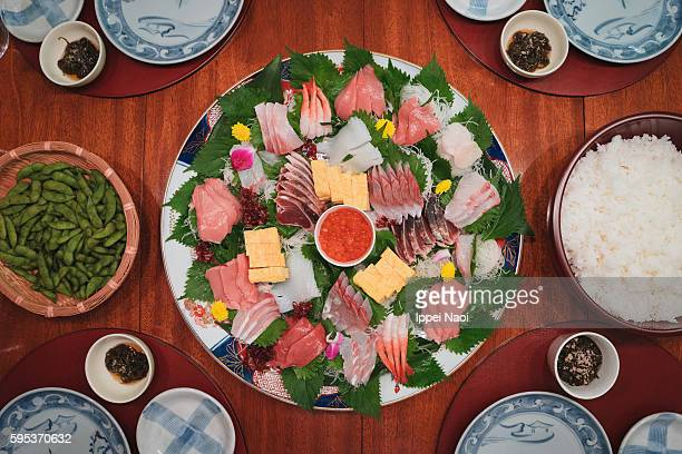 Temaki Sushi dinner at home