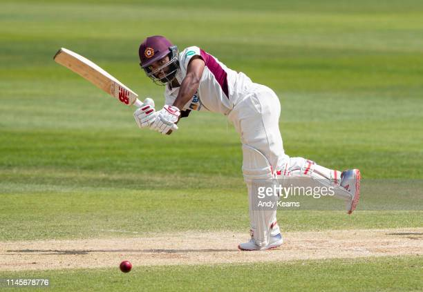 Temba Bavuma of Northamptonshire batting during the Specsavers County Championship Division Two match between Northamptonshire and Sussex at The...
