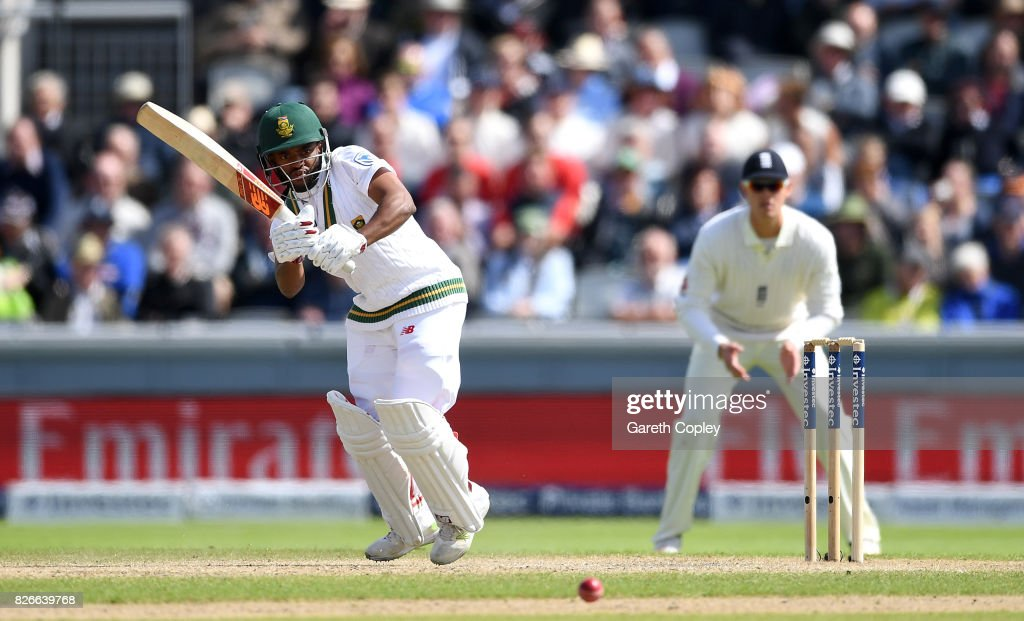 England v South Africa - 4th Investec Test: Day Two : News Photo