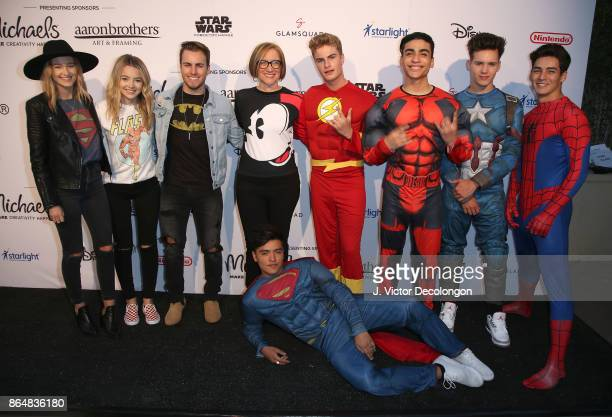 Temecula Road and In Real Life at the Dream Halloween 2017 Costume Party Benefitting Starlight Children's Foundation presented by Michaels and Aaron...