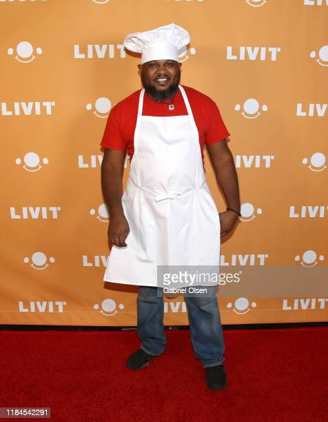 Temon Jackson attends Trip 'R' Treat with LIVIT LA's Largest Live Streaming Competition on October 30 2019 in Hollywood California
