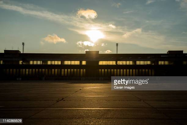 tempelhof airport - territory stock pictures, royalty-free photos & images