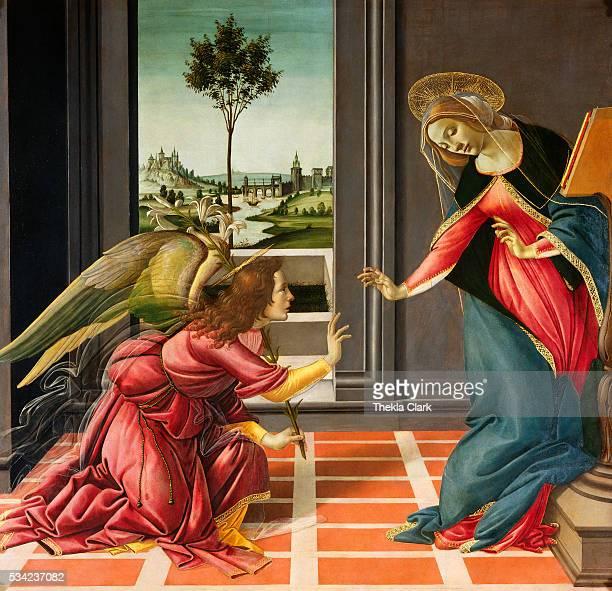14891490 Tempera on panel 150 x 156 cm Galleria degli Uffizi Florence Italy