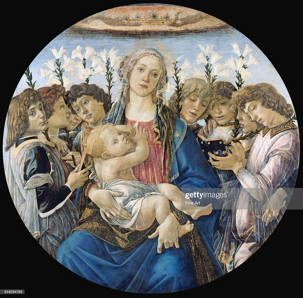 1477. Tempera on poplar panel. 135 cm. Gemaldegalerie, Berlin, Germany.