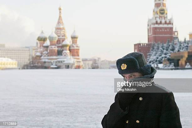 Temperatures Plunge In Moscow