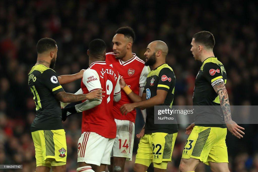 Arsenal FC v Southampton FC - Premier League : News Photo