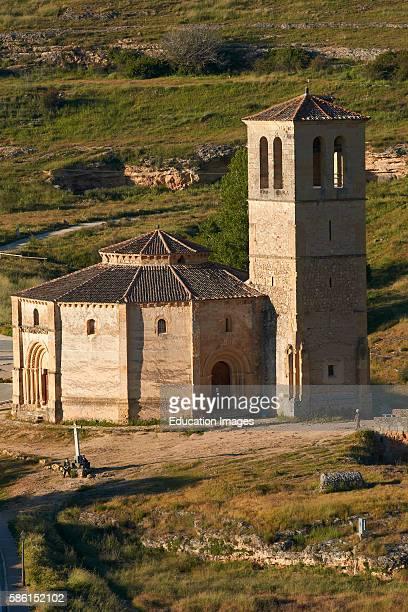 Templar church of the Vera Cruz Zamarramala Segovia Spain