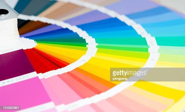 a template from a color swatch with rich colors - color image stock pictures, royalty-free photos & images