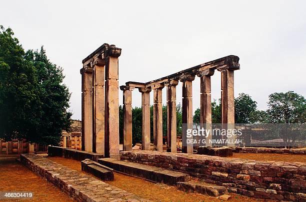Temple 18 of the Gupta Period Buddhist monuments Sanchi Madhya Pradesh India