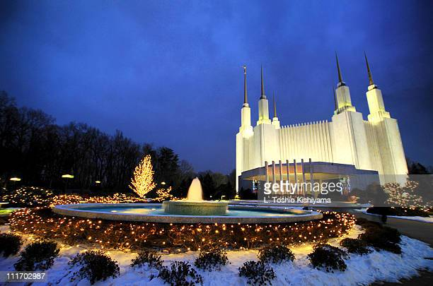 Temple at Christmas