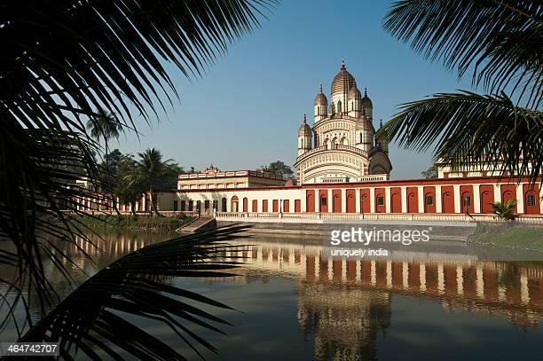 Temple at the waterfront, Dakshineswar Kali Temple, Kolkata, West Bengal, India