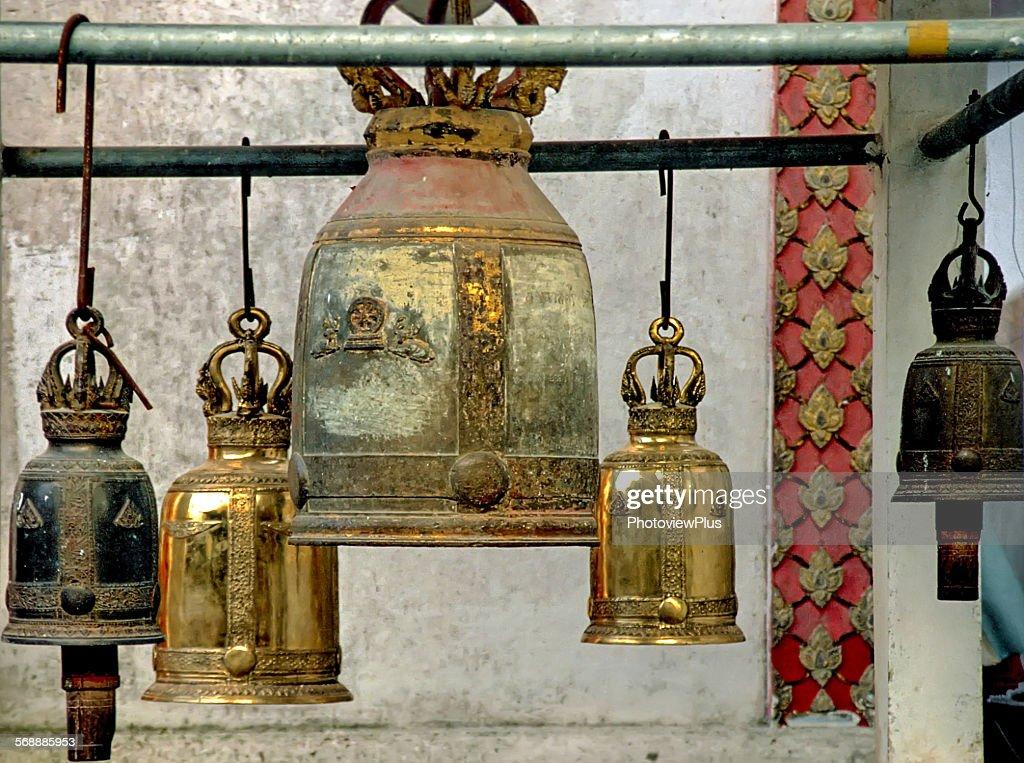 Temple Bells : Stock Photo