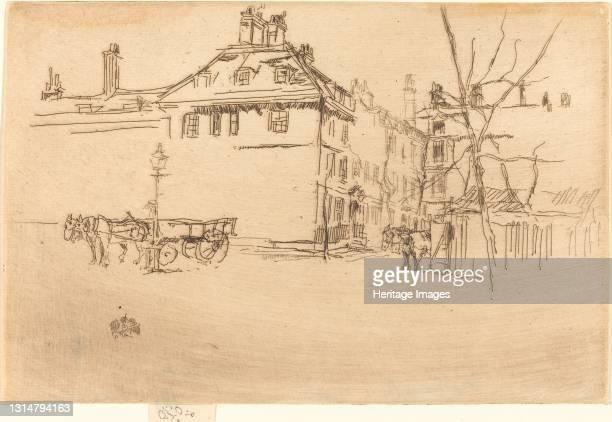 Temple, c. 1880/1881. Artist James Abbott McNeill Whistler.