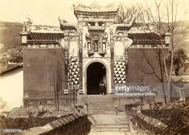 Temple China Photo by Isabella Lucy Bishop /Royal Geographical Society/Getty Images