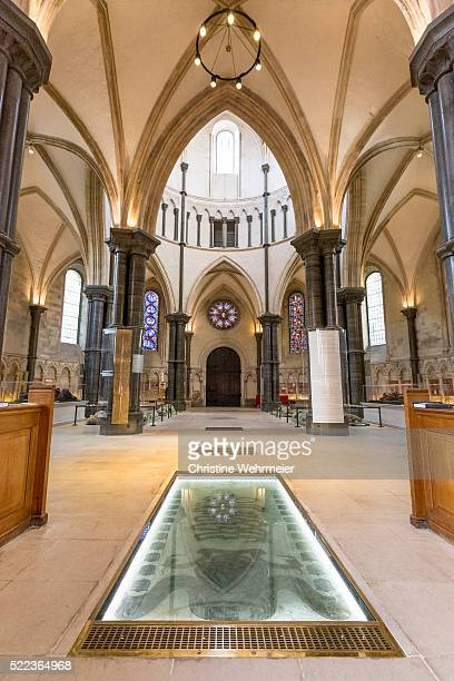 temple church, london, united kingdom - christine wehrmeier stock photos and pictures