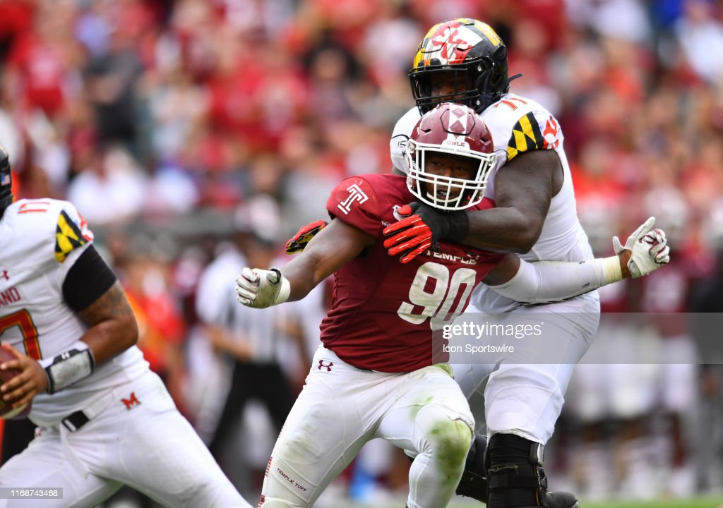 COLLEGE FOOTBALL: SEP 14 Maryland at Temple : News Photo