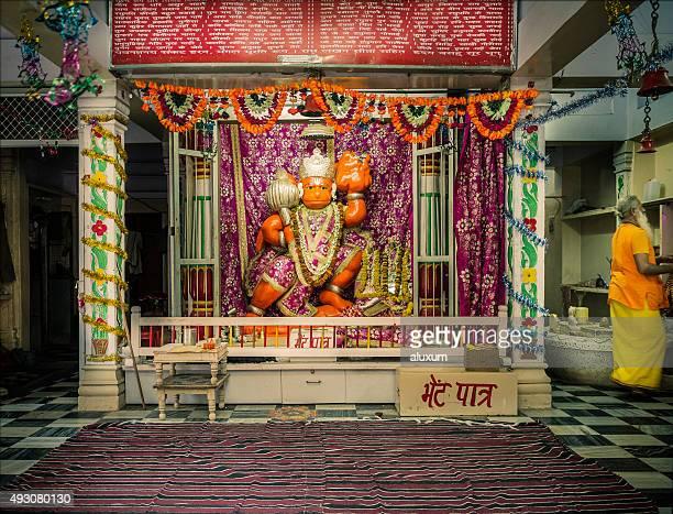 Temple dedicated to hindu God Hanuman
