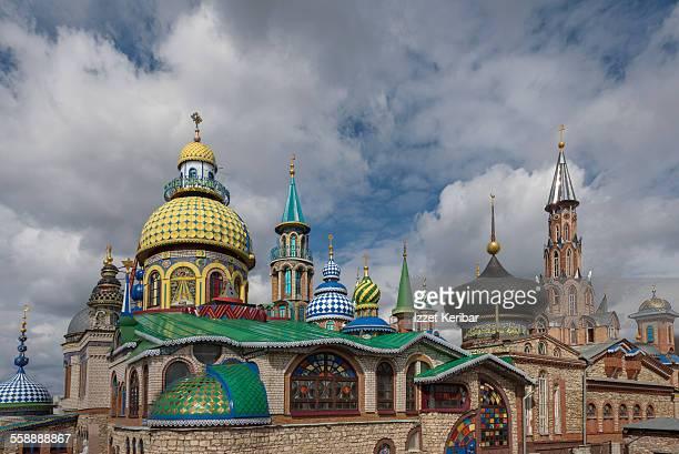 temple for all religions, kazan, tatarstan - カザン市 ストックフォトと画像