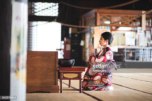 temple geisha - lypsekyo16 stock pictures, royalty-free photos & images